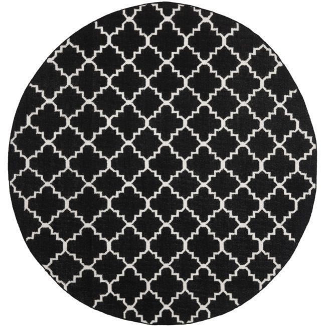 Safavieh Moroccan Reversible Dhurrie / Ivory Rug