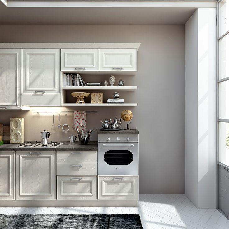 Cucina classica sara anta telaio angora top porfido - Top cucina porfido ...