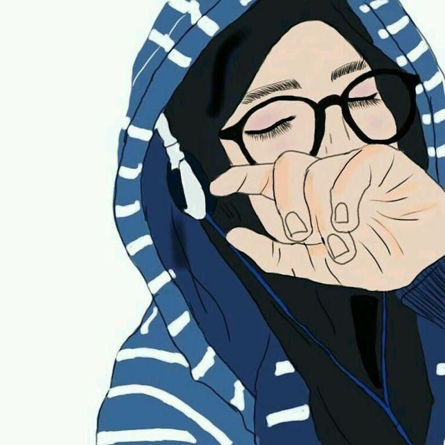 Kumpulan Kartun Hijab Muslimah Cute Jutaan Gambar Hijab Cartoon Anime Muslim Girl Cartoon