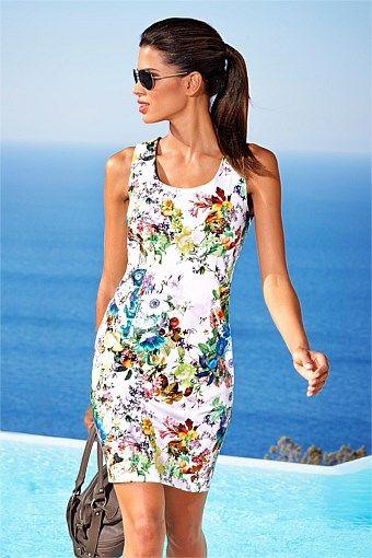 Dresses   Buy Women's Dresses Online - Heine Floral Dress