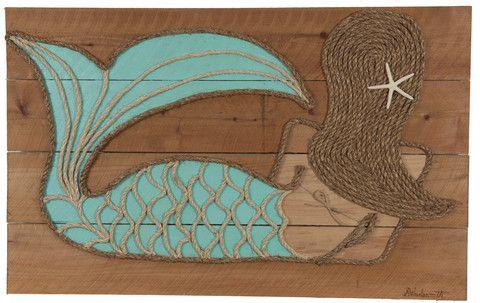 mermaid rope paint - Google Search
