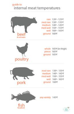 PRINT the meat temperature chart | Salt Is Your Friend