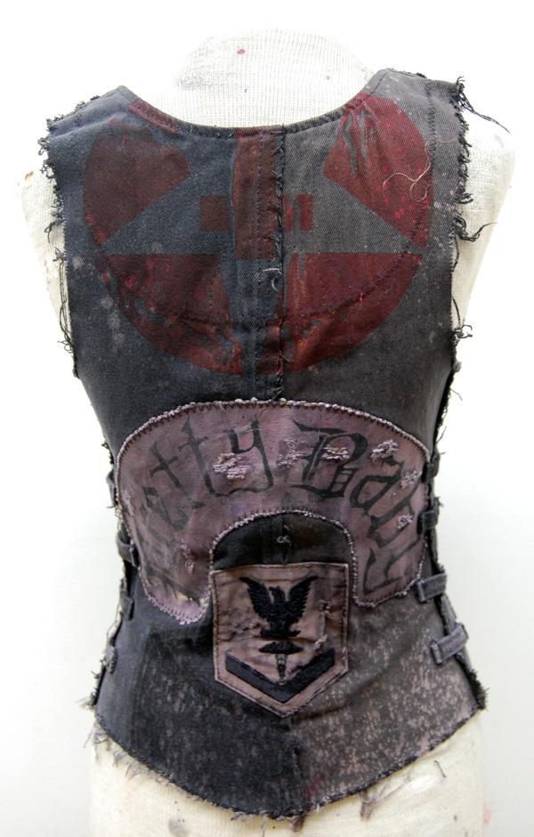 Junker Designs   Recycled Denim Vest