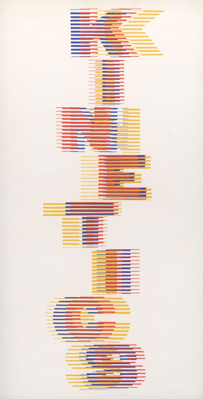 Kinetics, Hayward Gallery / The Arts Council of Great Britain, Catalogue of an exhibition held at Hayward Gallery, London, September 25 – November 22, 1970. Designed by Crosby/Fletcher/Forbes. W/ Alberto Biasi, Davide Boriani, Martha Boto, Alexander...
