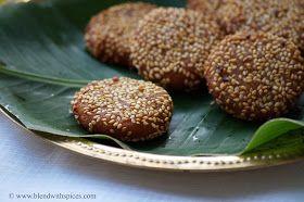 Blend with Spices: Nuvvula Appalu Recipe - Makar Sankranti Special Recipes - Pongal Festival Recipes