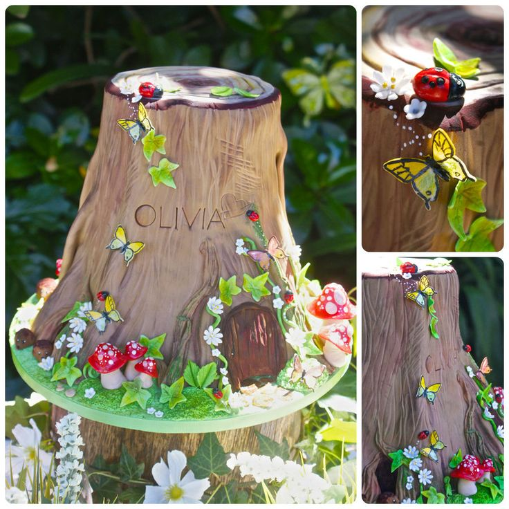 woodland party food | Pin Fairy Party Woodland Birthday Food Table Cake on Pinterest