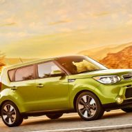 2014 Kia Soul Front Right Side View