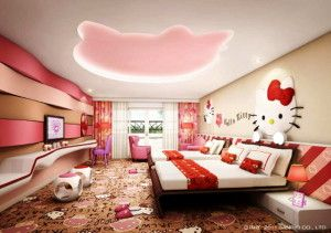 cool Hello Kitty Room Ideas