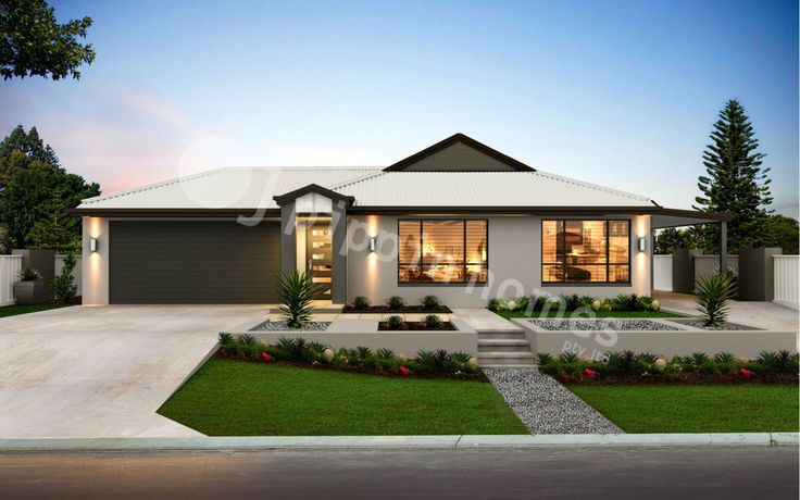 Grace 3 with a Dual Occupancy Double Garage is a very functional home design, front home features two bedroom with kitchenette, back of the home features three bedrooms, two bathroom family home, designed for a minimum of 25 m frontage. The home features two open plan living areas, opening out to a alfresco area.