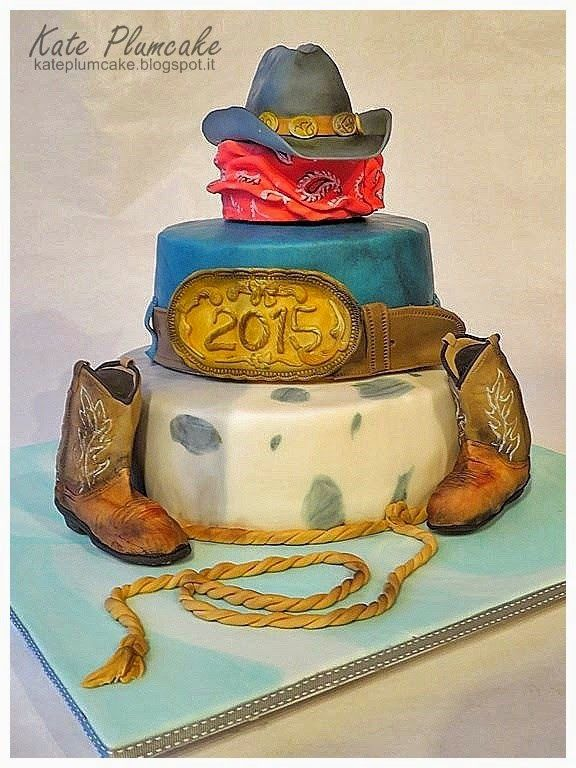 Kate Plumcake - Sugar Art & more                      : Torta Capodanno country - New Years Eve country ca...