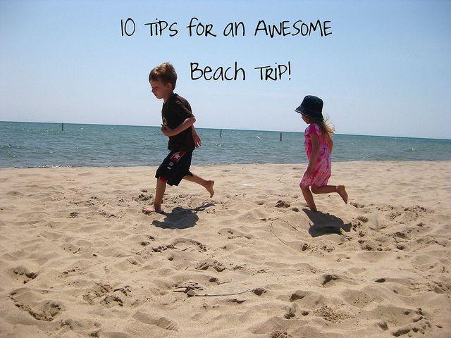 10 beach tips - I'll be needing this soon!