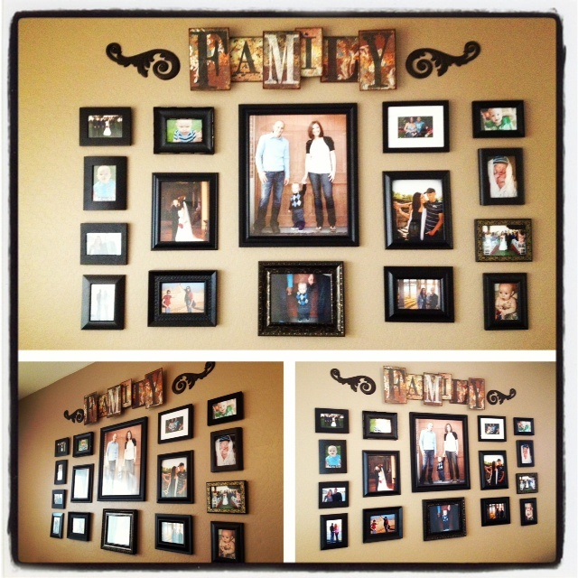 1000 ideas about photo collage walls on pinterest photo for Color collage ideas