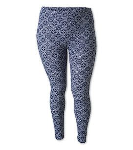 Leggings mit Print in der Farbe blau / weiss bei C&A