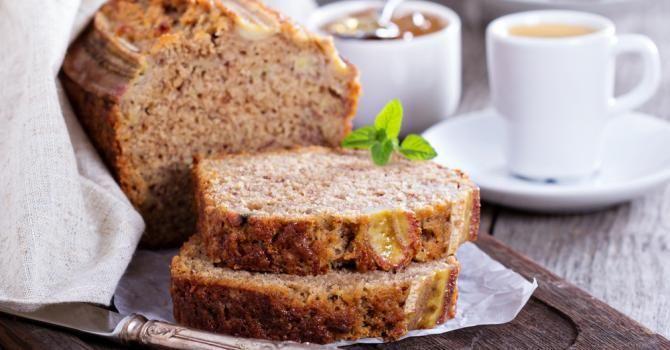 Recette de Banana bread léger sans beurre. Facile et rapide à réaliser, goûteuse et diététique. Ingrédients, préparation et recettes associées.