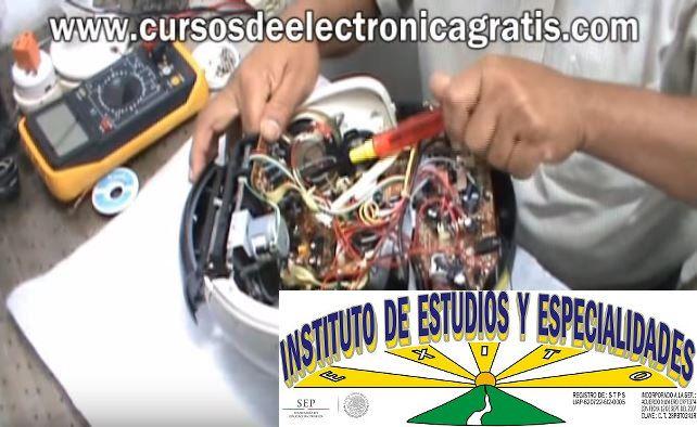 CURSOS DE ELECTRÓNICA GRATIS: REPARACIÓN DE RADIOGRABADORA PARTE 6