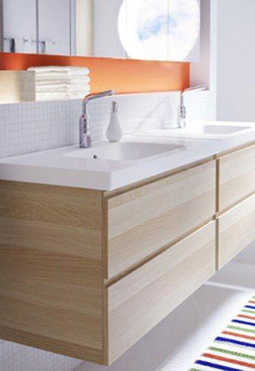 Les Meilleures Idées De La Catégorie Meuble Salle De Bain Ikea - Meuble double vasque salle de bain ikea