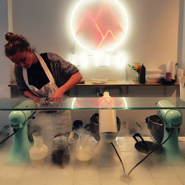 Canvas Planner ✓ Two cool female entrepreneurs started #istid in Copenhagen. First Nitrogen Ice Cream in Scandinavia