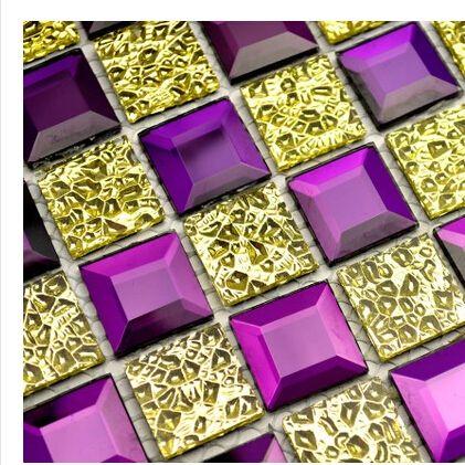 Spiegel Mosaik, Fliesen Badezimmer, Lila Küche, Küchenfliesen, Farbiges  Glas, Mosaik, Glass Mosaic Tiles, Bathroom Tvs, Wall Decor