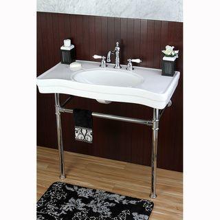 Photo Album Website Imperial Vintage inch Wall mount Chrome Pedestal Bathroom Sink Vanity Overstock