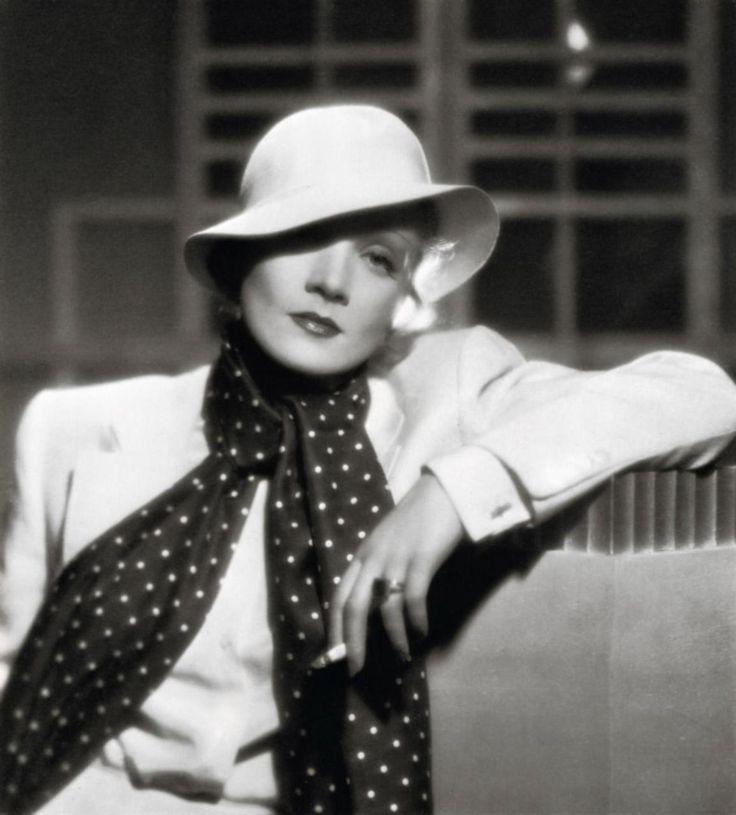 Marlene Dietrich, 1930s, always glamorous