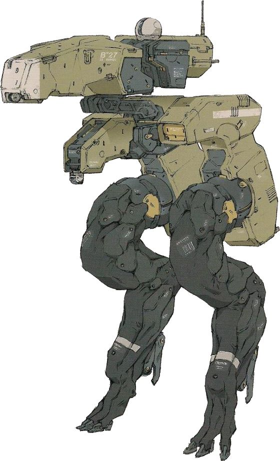 Gekko - The Metal Gear Wiki - Metal Gear Solid Rising, Metal Gear Solid Peace Walker, Metal Gear Solid 4, and more