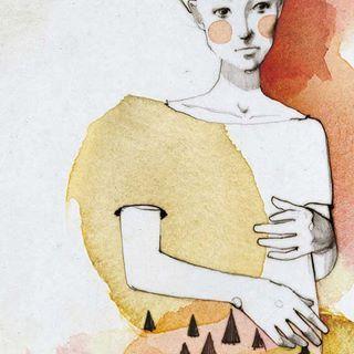 """Harlekin"" . . . . . . . #illustration #print #etsy #harlekin #lesfilles #poster #interior #watercolor #иллюстрация #инстаграмнедели #карандаш #акварель #ekaterinakoroleva #berlin"