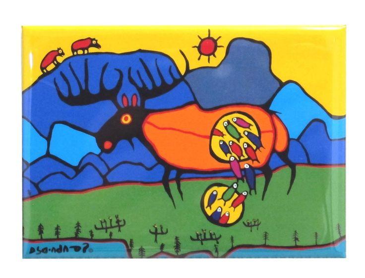 'Giant Moose' Magnet
