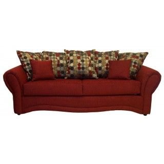 Pouncer Red Sofa And Loveseat Group. Urban FurnitureFurniture ...