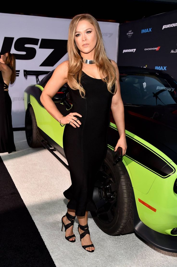 "Ronda Rousey - February 01, 1987 - 5' 7'' - Riverside, California, USA. >Ronda Rousey At ""Furious 7"" Premiere."