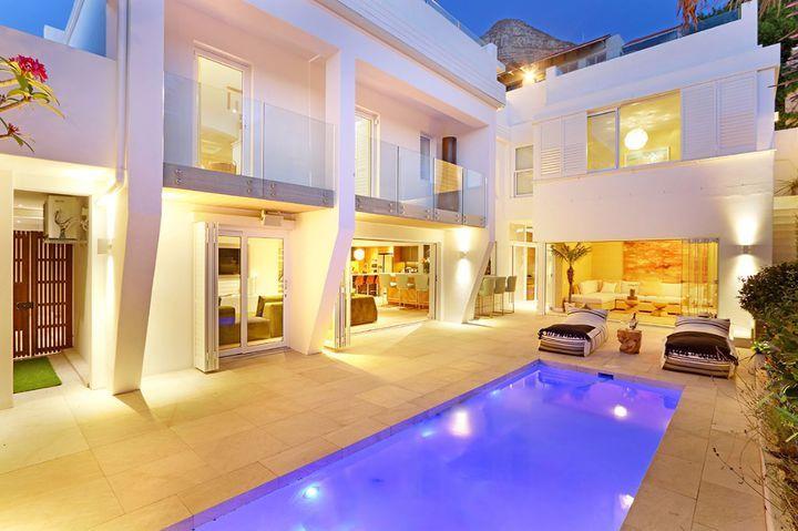 Brand new 3 bedroom villa on Clifton's Arcadia Steps. This is the ideal holiday getaway with magnificent ocean views and breath-taking sunsets. Perfectly positioned within close proximity to the beach and Camps Bay Promenade with its restaurants and boutique stores.