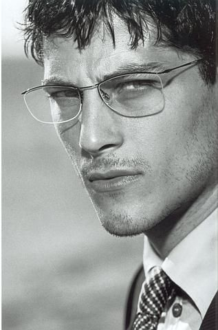 Atesh Salih:  the new face for Armani