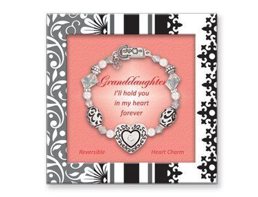 Granddaughter Inspired Expressions Bracelet w/ Gift Box Inspired Expressions. $13.99. GIFT BOX W/ VERSE. I'll hold you in my heart forever. Granddaughter