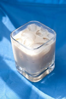 Coconut Pie (1 oz Malibu rum 1 oz Kahlua 2 oz milk).