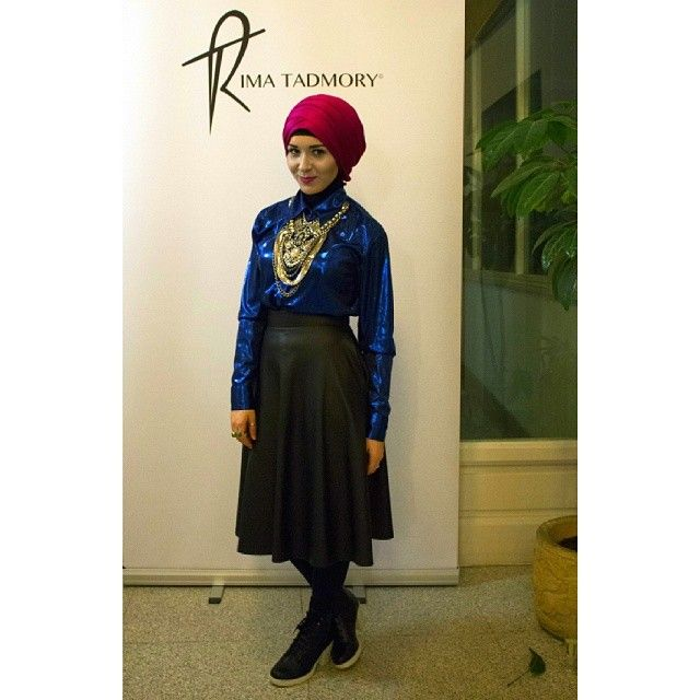 New vlog video of @rimatadmory preview launch is up on my channel www.youtube.com/nabiilabee necklace from #newlook #shirt is #vintage #leather #skirt #riverisland #boots #newlook photo taken by @saima chowdhury :)
