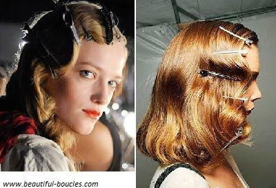 13 best boucles vintage coiffures boucl es style r tro images on pinterest vintage curls - Style vestimentaire annee 20 ...