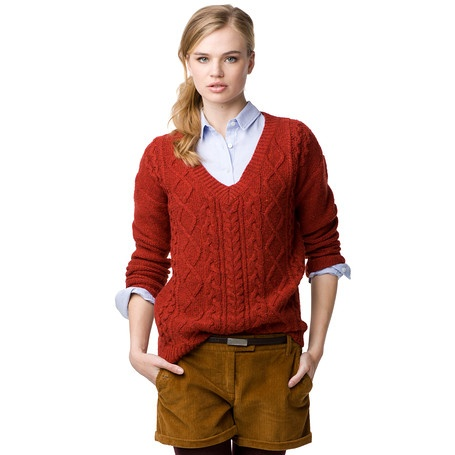 Preston  Sweater - 220_MADDER BROWN HEATHER - Jumpers, from Tommy Hilfiger