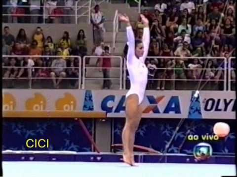 Jade Barbosa (BRA) FX Gala Pan American Games Rio 2007