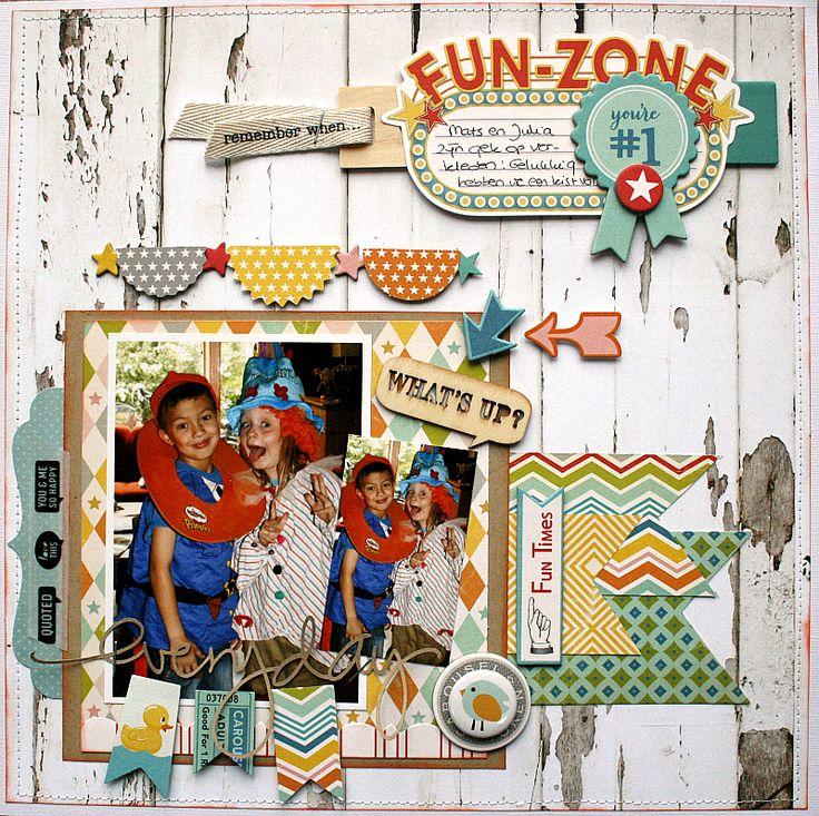Fun Times (October Afternoon) - Scrapbook.com