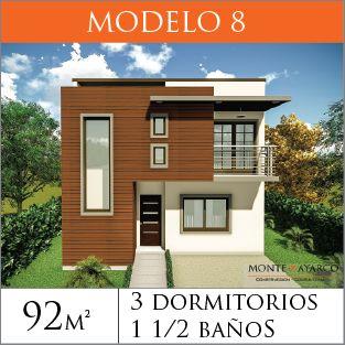 Modelos de Casas de Dos Pisos | Constructora MonteAyarco Costa Rica