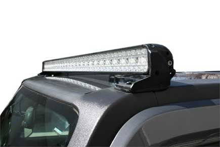 Check out the deal on Hummer H3 LED Roof Top Light Front Light Bar by Predator at Hummer Parts Club