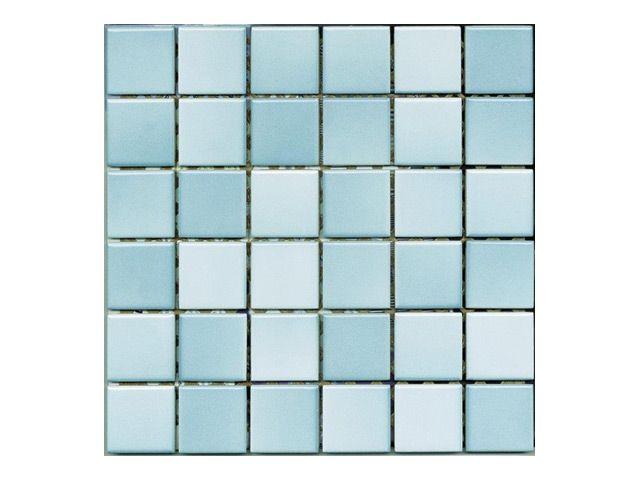 мозаика керамогранит 30х30 (5х5) COLORLINE Mix5, голубая