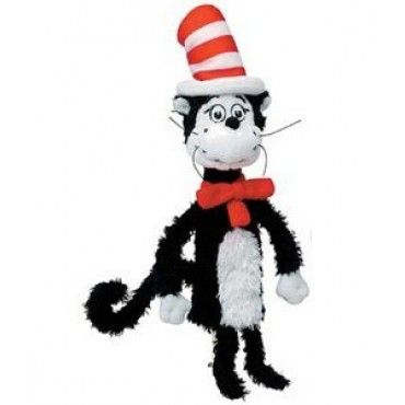 Manhattan Toy Dr. Seuss Cat in Hat Finger Puppet