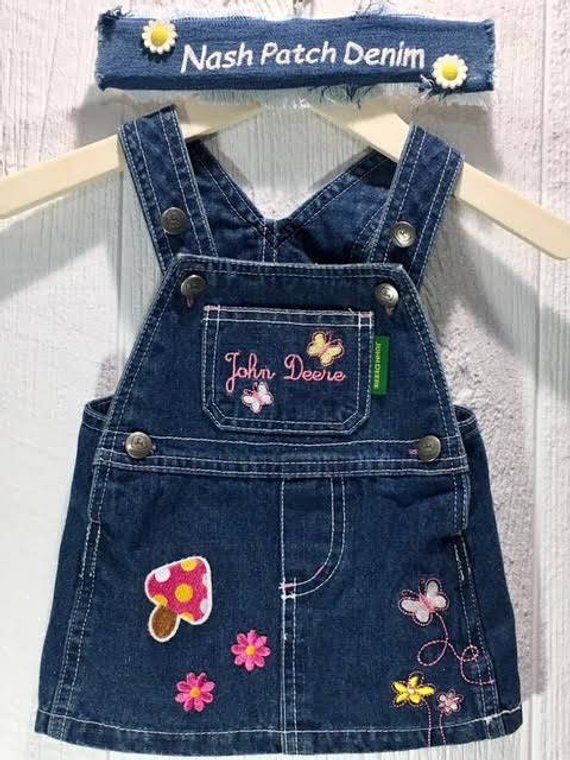 e62bd0f14e5 Patched Denim Shortalls