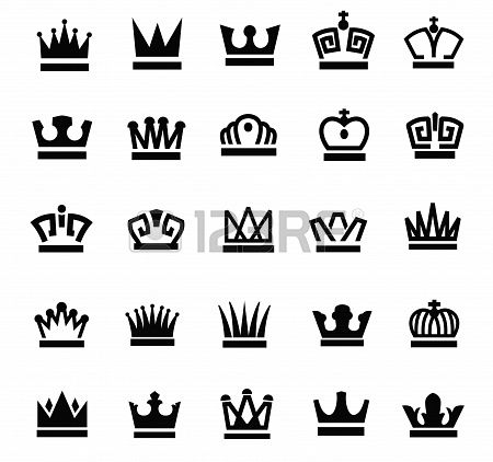 68 Best Crown Images On Pinterest Crown Logo Logo Designing And