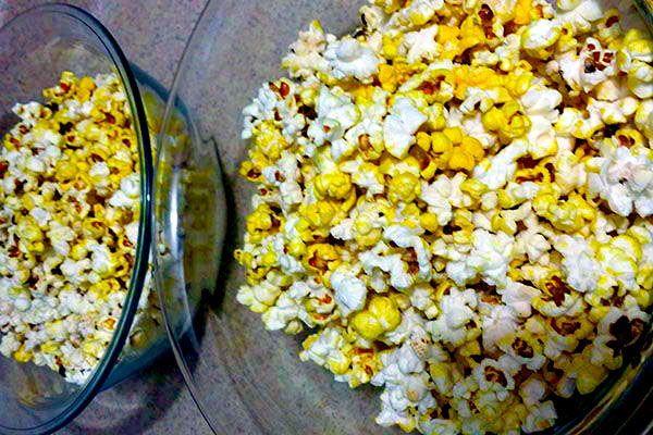 Palomitas de maíz: Merienda saludable