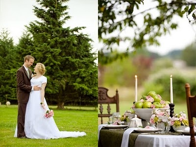 Marry You Me: Romantic Country Elegance Inspiration