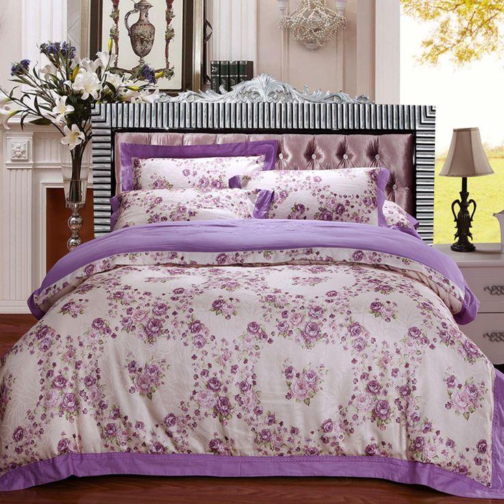 cotton&jacquard  flower bedding sets bed set linen  multicoloured single 3pcs bedclothes duvet cover bedlinen bedclothes print #Affiliate