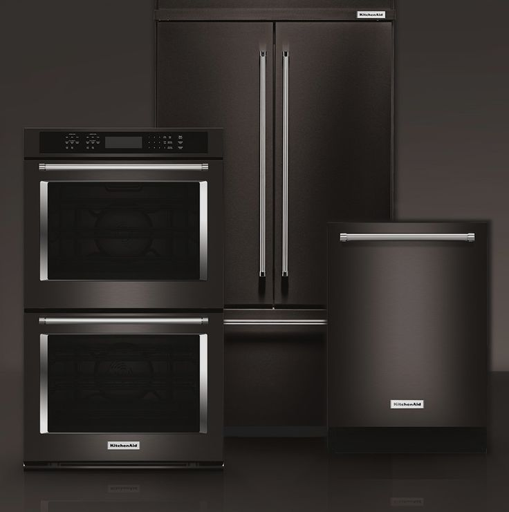 Gray Kitchen Cabinets With Black Appliances: Best 25+ Black Stainless Steel Ideas On Pinterest