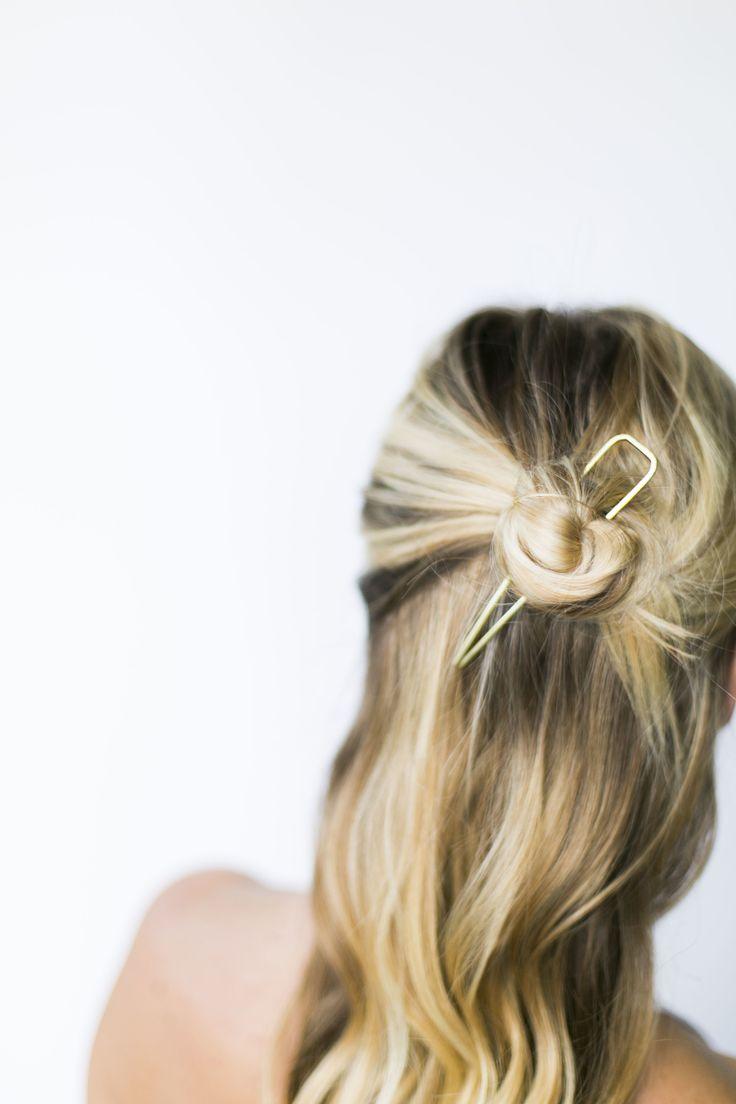36 best Bun Pin Hair Styles images on Pinterest | Bun pins, Hair ...