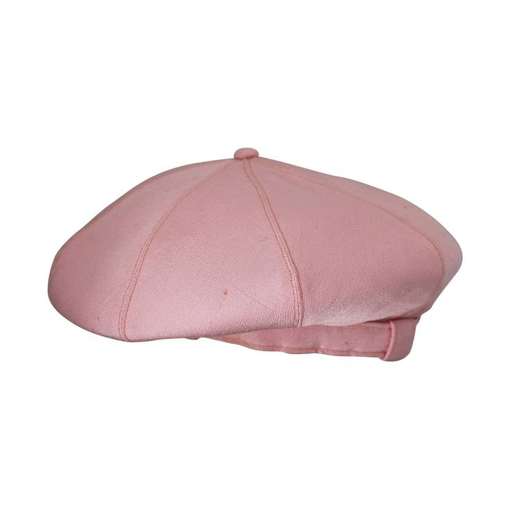 Norman Norell 1960's Vintage Silk Pink Driving Cap | 1stdibs.com